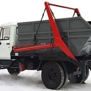 Портальный мусоровоз СБМ-303/2 фото