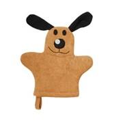 Мочалка-варежка детская Собака фото