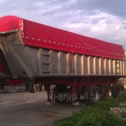 Накидка на зерновоз, тент на грузовик, накидка на самосвал. фото