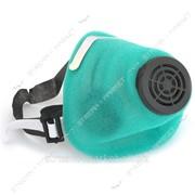 Респиратор У2К флизелин (код-1) голубой или зел.цвет №872423 фото
