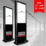 Рекламная Видеостойка фото