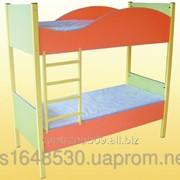 Кровать детская, 2-ярусная, 14137 фото