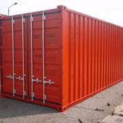 Морские контейнеры 20' фото