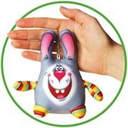 """Антистрессовая игрушка-брелок """"Кролик"""" фото"""