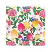 """Упаковочная бумага Феникс """"Сочные фрукты"""", 1 лист 70 х 100 см., 80 г/м2, , 81057 фото"""