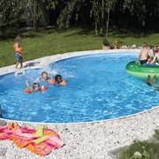 """Сборный бассейн """"восьмерка"""" Unipool Exellent 9,2 на 6 м, высота 1,5 м фото"""