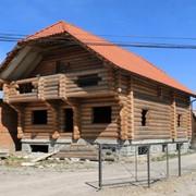 """Дерев'яний будинок за технологією """"Канадської рубки"""" фото"""