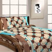 Комплект постельного белья 1.5 СПАЛЬНЫЙ БЯЗЬ B 03 фото