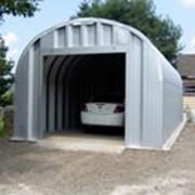 Бескаркасные Ангары, применяются в качестве гаражей, автостоянок, автомоек фото