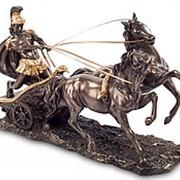 Скульптура Воин на колеснице 26х17х13,5см. арт.WS-28/2 Veronese фото