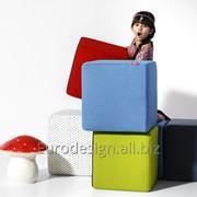Мебель для детской комнаты pouf cube фото