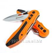 Складной нож Ganzo G621 (оранжевый, серый) фото