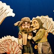 Показ спектаклей кукольных театров фото
