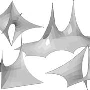 Тентовые покрытия, ПВХ ткани фото