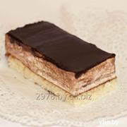 Пирожное Дюймовочка с шоколадом фото