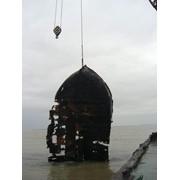 Судоподъемные работы, поиск и подъем затонувших предметов (конструкций), Работы судоподъёмные фото