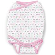 Конверт Summer Infant Конверт для пеленания SwaddleMe® Kicksie, размер S, сердечки фото