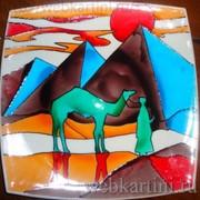Картина Закат в пустыне фото