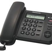 Телефон Panasonic KX-TS2356RU, цвета: белый (W), черный (B) фото