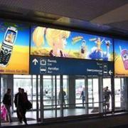 Размещение рекламы в аэропорту фото