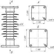 Изолятор ОСК 10-110/480-2-012 фото
