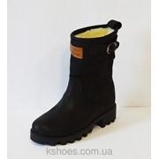 Женские нубуковые ботинки Selesta 25882 фото