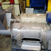Вертикальная центрифуга для переработки пластика фото