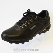 Мужские черные ботинки Konors 461 фото