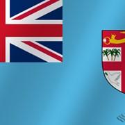 Флаг национальный Фиджи фото