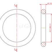 Кольцо резиновое уплотнитель для клапана регулирующего, 15,0*2,62 мм FB фото