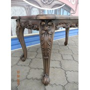 Реставрация старинной резной мебели фото