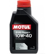 Масло моторное Motul модель 10W40 2100 POWER+ 1L фото