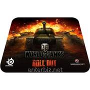 Игровая поверхность SteelSeries QcK World of Tanks Edition (67269), код 47383 фото