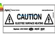Предупредительная наклейка LAB-ETL-R 574738-000 фото