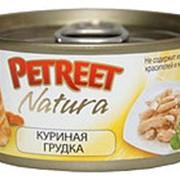 Petreet 70г конс. Влажный корм для взрослых кошек Куриная грудка фото