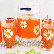 Набор для напитков Luminarc PAQUERETTE MELON G1980 7 предметов фото