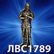 Статуэтка РЫЦАРЬ ЦВЕТ 46см фото