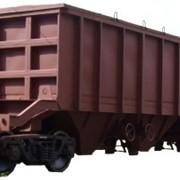 Вагоны грузовые со съемной крышей и разгрузочными бункерами мод. 12-9765 предназначен для перевозки глинозема, алюминиевых заготовок фото