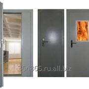 Установка технических и противопожарных дверей фото
