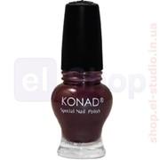 Лак для стемпинга Konad Princess (тёмно-пурпурный эмаль) 12 мл фото