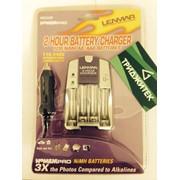 Автомобильное и сетевое зарядное (ЗУ пальчиковое) AA, AAA Lenmar (PRO32B) фото