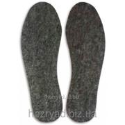 Стелька для обуви фетровая (44 размер) Стелька/ 44 фото