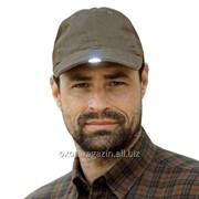 Кепка мужская с фонариком фото