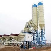 Стационарный сдвоенный бетонный завод HZS 70S фото