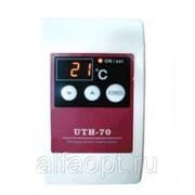 Терморегулятор UTH-70 накладной, цифровой дисплей, сенсорное управление фото