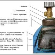 Ремонт вентилей кислородного баллона фото
