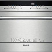 Компактная посудомоечная машина интегрированная Siemens SR56T596EU фото