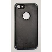 Чехол на Айфон 7 SGP Neo Hybrid Силикон и пластик Черный Серый фото