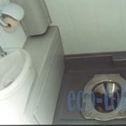 Туалеты для железнодорожных вагонов фото