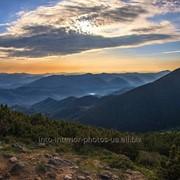 Фотография Горные вершины, Карпаты фото